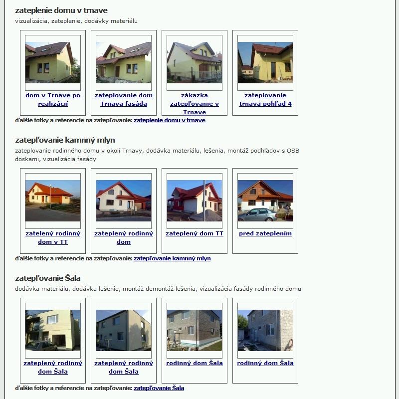 Referencie na webstránke